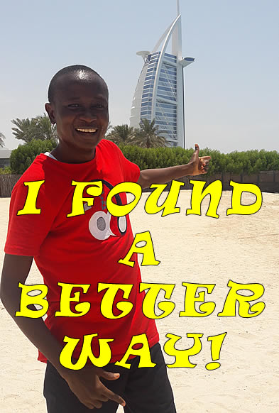 I found a better way - Wale Akintola