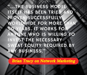 Brian Tracy on Network Marketing