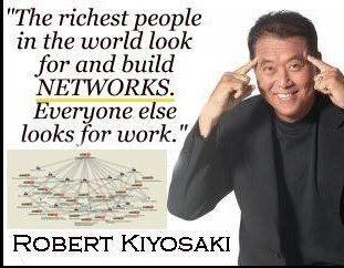 Robert Kiyosaki Quote on Network Marketing